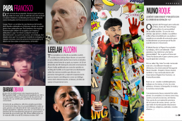 Barack Obama - Pop Francis and Nuno Roque - Ulisex Magazine Mexico - Comics Overdose (Cakes) - Pop Music - Contemporary Artist