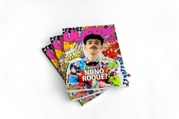 Nuno Roque - Magazine Cover - Comics Overdose (Duck) - Artwork - Ulisex Magazine - Moustache bow tie - cartoons