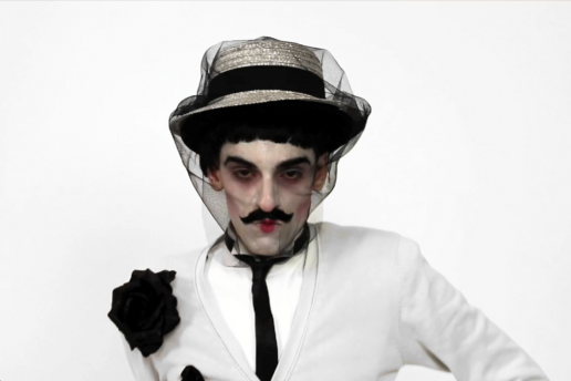 Nuno Roque (as The Villain) performing in 'My Cake'